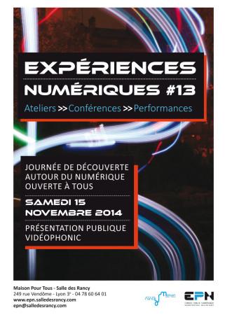 experience numerique 13
