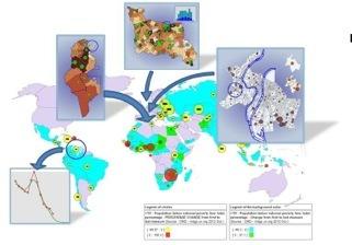Explorer nos mondes en cartes et en données