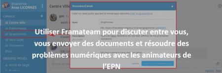 Ouverture du framateam de l'EPN des Rancy dès le 24 mars