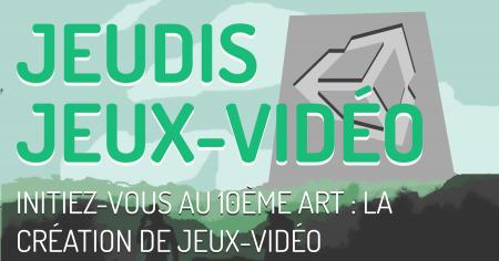 Initiez-vous au 10ème art: Jeudi jeux-vidéo à partir du 1er octobre